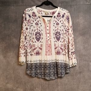 Lucky brand ladies top